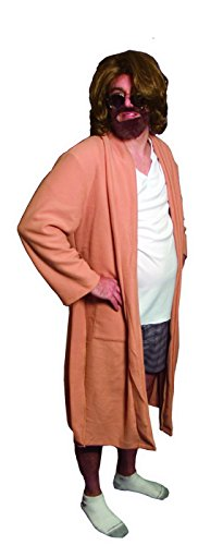 Dude Robe The Costume (The Big Lebowski The Dude Bath Robe Outfit Costume Adult)