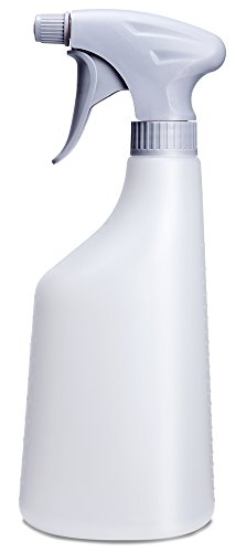 Mkono Plant Mister Spray Bottle Indoor Watering Can Plastic Mist Bottle Adjustable Nozzle for Succulent Air Plant Orchid Flower Houseplants Gardening Tool, 21 Oz