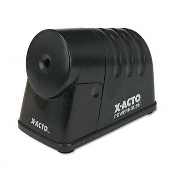 X-ACTO™ Boston® PowerHouse® Electric Pencil Sharpeners SHARPENER,ELEC,PWRHS,BK (Pack of3) by Elmer's