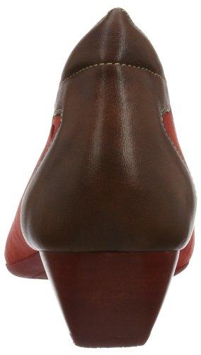 Think Alexia - Plataforma de cuero mujer marrón - Braun (hazel/kombi 50)