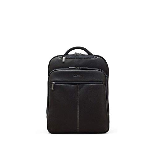 Kenneth Cole Reaction Back-stage Access Colombian Leather Slim Dual Compartment 16