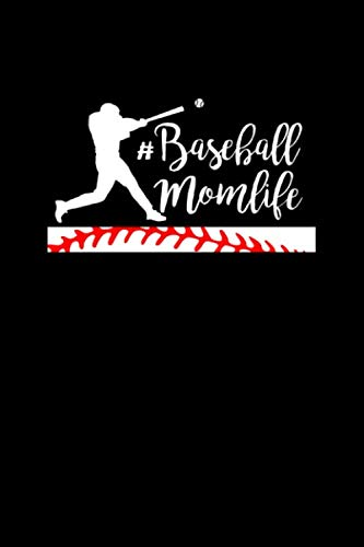 #Baseball Momlife: Baseball or Softball Journal for writing notes, ideas, and keeping records for work!