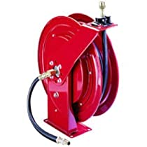 Alemite 8078-B Heavy-Duty Hose Reel, 6,400 Psi Rating, 1/4