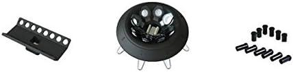 Mini-Schreibtisch-Zentrifuge 3000-10.000 U//min NEWTRY MINI-10K verstellbar High Speed elektrische Zentrifuge LED-Display mit Rotoren und R/öhren
