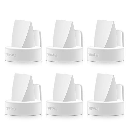 [6-Count] Papablic Duckbill Valves for Spectra and Medela, Replaceable Duckbill Valves for Spectra S1 Spectra S2 Valves and Medela Pump in Style Valves, BPA/DEHP Free