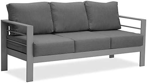 Wisteria Lane Patio Furniture Aluminum Sofa