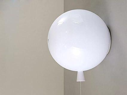 farbe ballon wandlampe modern einfache e27 ballon kreative wandleuchte pvc farbe pull type