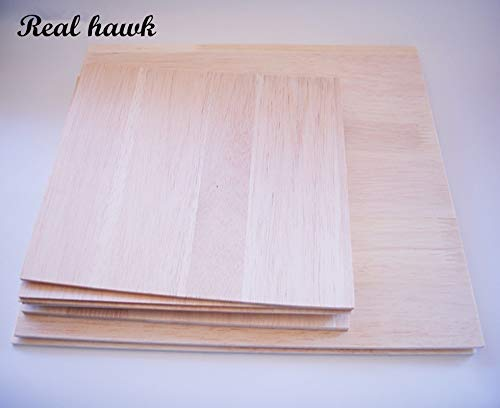 Best Quality - Parts & Accessories - Balsa Wood Sheet Plywood Puzzle 300Mmx200Mmx2/3/4/5/6/8Mm Super Quality for Airplane/Boat DIY - by Wood Shelf - 1 Pcs - Balsa Wood Glider