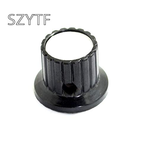Isali Electronic - KYP22-18-4 bakelite knob bore All Copper 4MMpotentiometer knob hat (Bakelite Hat)