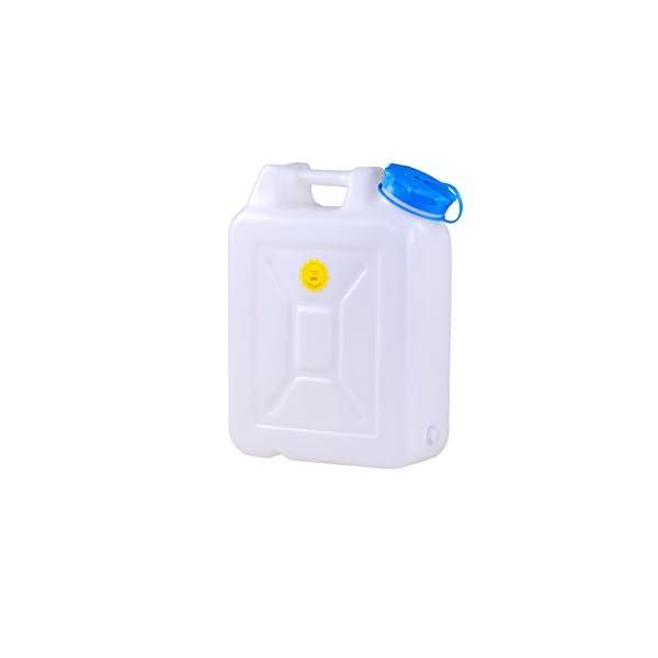 hünersdorff 818201 Weithalskanister/Abklärkanister/Mehrzweckkanister mit großer Öffnung zur einfachen Innenreinigung, UV…