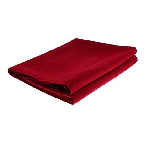 MagiDeal Soft Microfiber Fitness Yoga Mat Towel Sweat Absorbent Blanket Exercise Pilates 195 x 150cm - Red