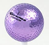Chromax M1 Golf Ball Purple Shiny 3 Balls Sleeve
