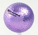 Chromax M1 Golf Ball Purple Shiny 3 Balls Sleeve