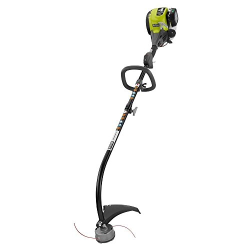 Ryobi RY34426 4-Cycle 30 cc Attachment Capable Curved Shaft Gas Trimmer