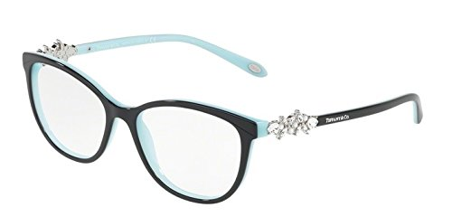 Tiffany 0TF2144HB-8055- BLACK/BLUE 54mm - And Black Tiffany Blue