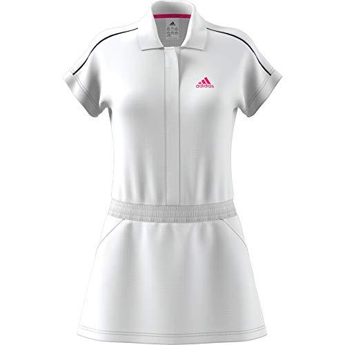 blanc rouge Tennis Seasonal Robe Femmes Blanc Adidas De rose X6UH4xn1