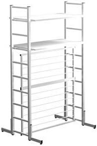 Garage オープンラック フレームラック 机上棚 OS 両面基本OS-1018KR ホワイト