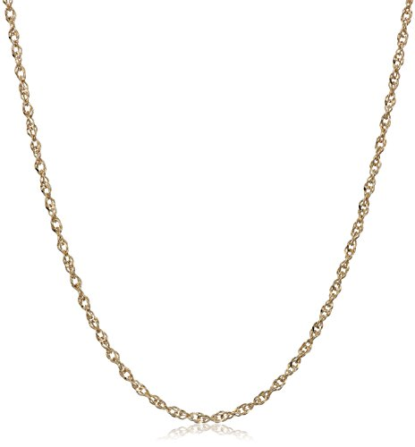 Jewelry Collection Gold (14k Yellow Gold Solid Perfectina Chain Necklace (1.0mm), 20