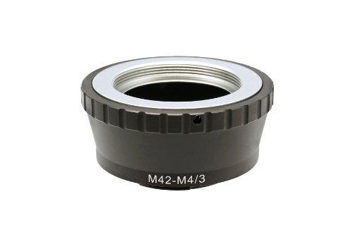 Gadget Place M42 Lens Adapter for Panasonic DC-GH5 DMC-GX850 GX800 GF9 GX85 GX80 G85 G80 by Gadget Place