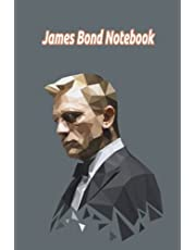 James Bond Notebook: Notebook Journal  Diary/ Lined - Size 6x9 Inches 100 Pages