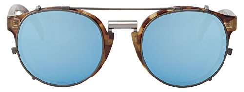 with High única MR Sol Contrast Gafas newtown talla sky unisex multicolor blue carey lenses BOHO De tortoise 5HwaqrxXw