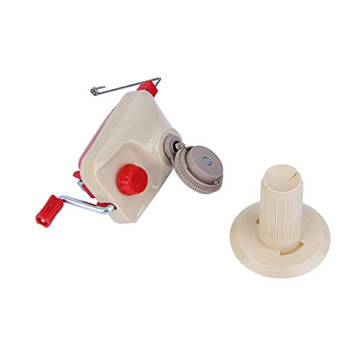 Moorecastle Plastic and Metal Fashionable Portable Hand-Operated Swift Yarn Fiber String Ball Wool Winder Holder Hand Operated