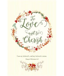 Standard Bulletin 11 - Wedding - To Love and to Cherish (Pack of 100)]()