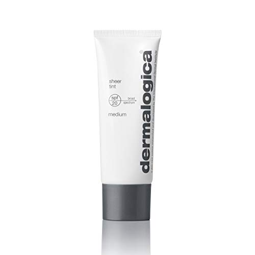 - Dermalogica Sheer Tint Sunscreen Lotion SPF 20, Medium, 1.3 Fl Oz
