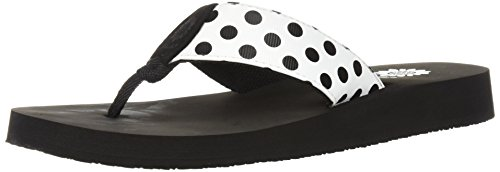 White Yellow Zadie Box Flip Women's Flop XTXwSq