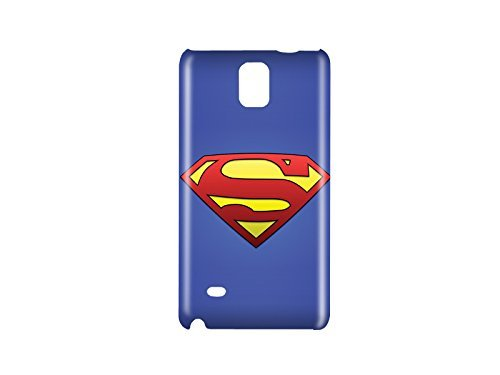 Superman Man of Steel Snap on Plastic Case Cover Compatible with Samsung Galaxy Note 4