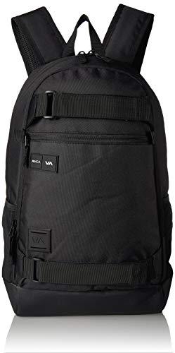 (RVCA Men's Curb Skate Backpack, black, ONE SIZE)
