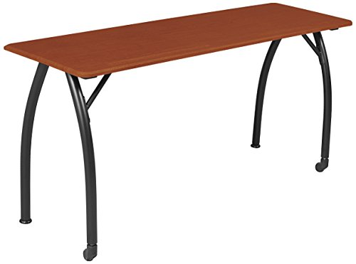 Balt Mentor Training Table, 72''W x 20''D Cherry Top With Black Base (90111) by Balt