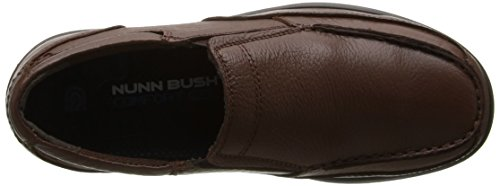 Nunn Bush Mens Max Slip-on Loafer Cognac