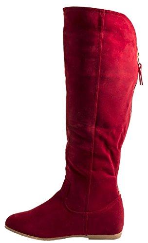 Rosso Donna Elara Stivali Donna rosso Stivali Elara Elara rosso Rosso Fq5nqp1