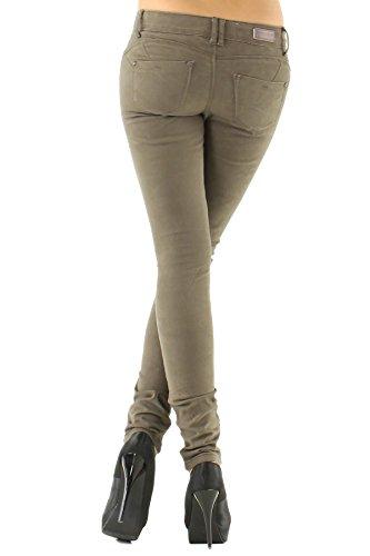 Divadames mocha B038 k Jeans Donna 0PqI0arS