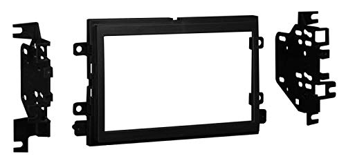 Metra 95-5819 Double DIN Installation Dash Kit for 2009 Ford F-150 (Black)