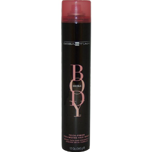 Body Double Thick Finish Volumizing Hair Spray by Sebastian for Unisex - 12 Ounce Hair Spray by Sebastian