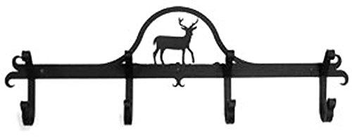Iron Coat Rack-Towel Rack Bar Deer - 24