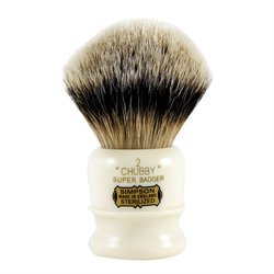 Simpsons Chubby 2 Super Badger Hair Shaving Brush by Simpsons