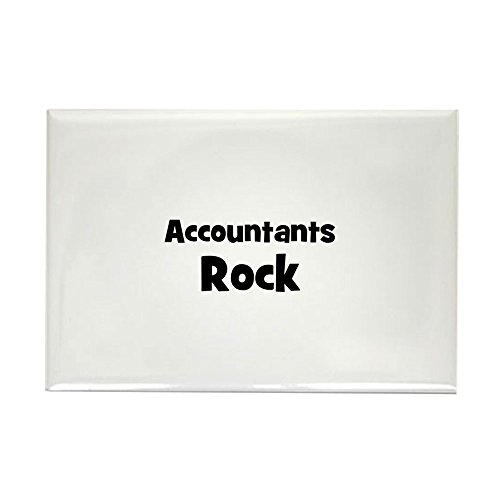 - CafePress ACCOUNTANTS Rock Rectangle Magnet Rectangle Magnet, 2