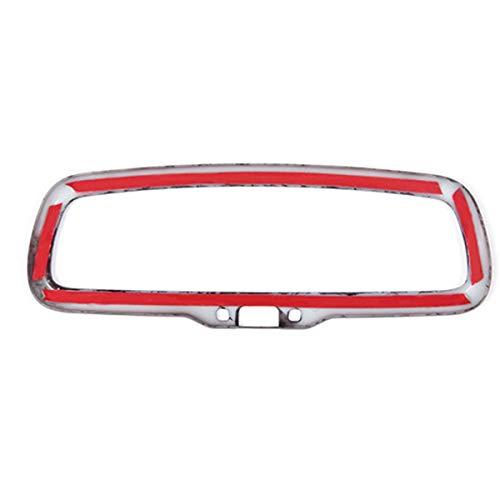 TOOGOO Carbon Fiber Style for Alfa Romeo Giulia Stelvio 2016 2017 2018 Abs Plastic Car Interior Rearview Mirror Frame Trim Accessories
