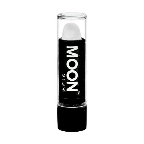 Moon Glow - BlacklightNeon UV Lipstick0.16oz- White – Glows brightly under Blacklights/UV Lighting!