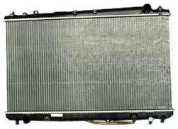 (TYC 2324 Toyota Avalon 1-Row Plastic Aluminum Replacement Radiator)
