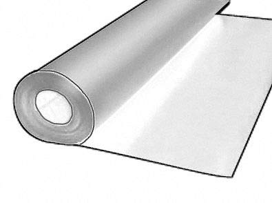 Roll, UHMW, w/PSA, 0.125 in Th, 1/2 Inx50 Ft