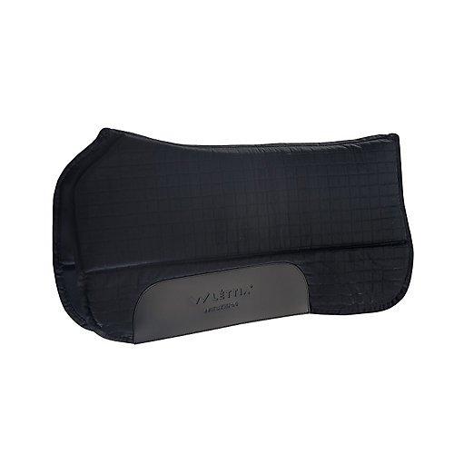 lettia-coolmax-western-saddle-pad-black
