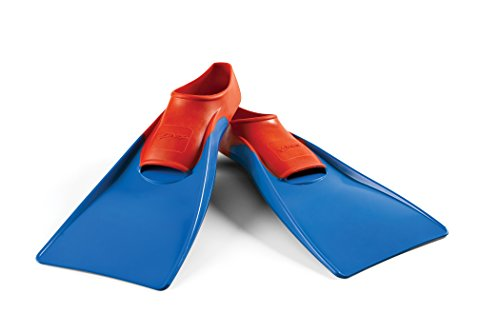 Long Floating Fin 5 7 Red Blue