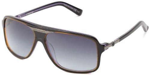 VonZipper Stache Square Sunglasses,Black & Violet,One Size
