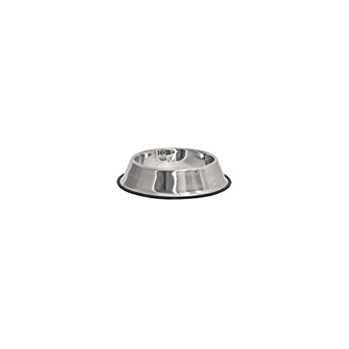ALEKO PSSB01S Small Stainless Steel Pet Dog Cat Puppy Food Bowl