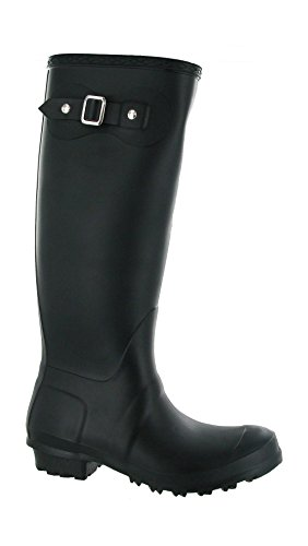 Cotswold Pull-On Self-Lined Wellingtons - Black - Size 4 5 6 7 8 Black