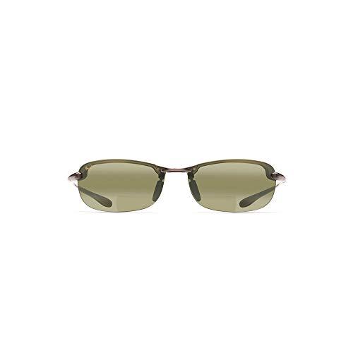 Maui Jim Makaha Reader HT805-1120   Polarized Smoke Grey Rimless Frame Sunglasses, Maui Ht Lenses, with with Patented PolarizedPlus2 Lens Technology ()